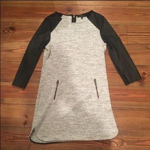 Sanctuary Clothing Gray and Black Exposed Top